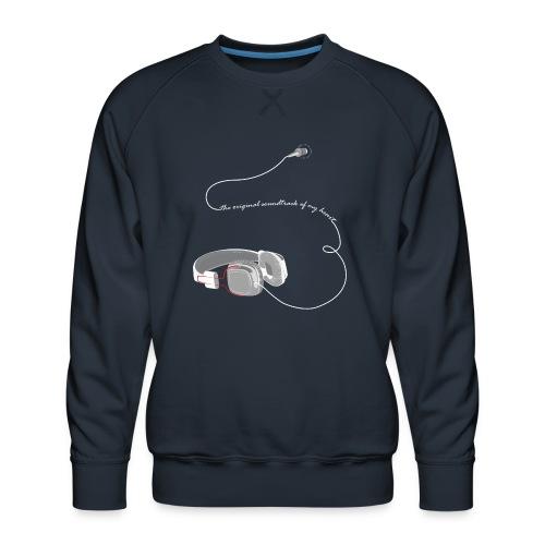 Tee shirt manches longues casque soundtrack - Sweat ras-du-cou Premium Homme