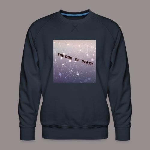 The duo of death logo - Mannen premium sweater