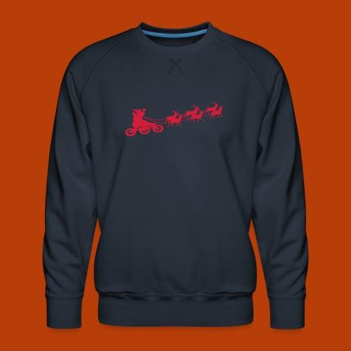 Ho Hoo Weihnachts Rentier Skate - Männer Premium Pullover