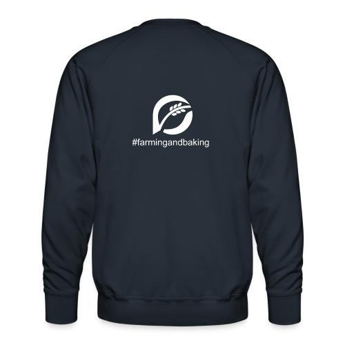 farningandbaking onlywhite - Männer Premium Pullover