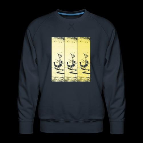 hotei - utagawa kuniyoshi - Männer Premium Pullover