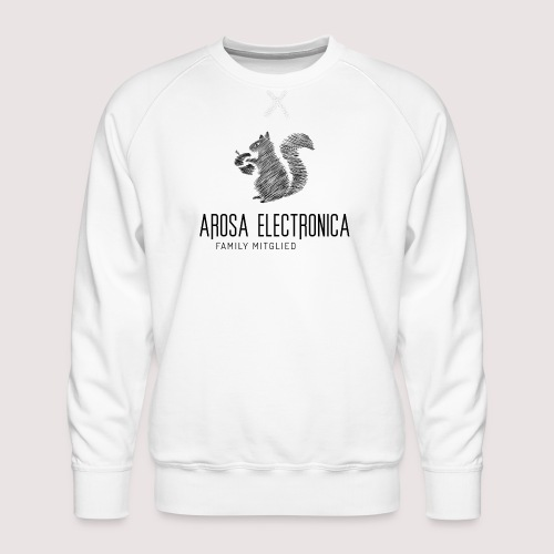 Family Mitglied Arosa Electronica - Männer Premium Pullover
