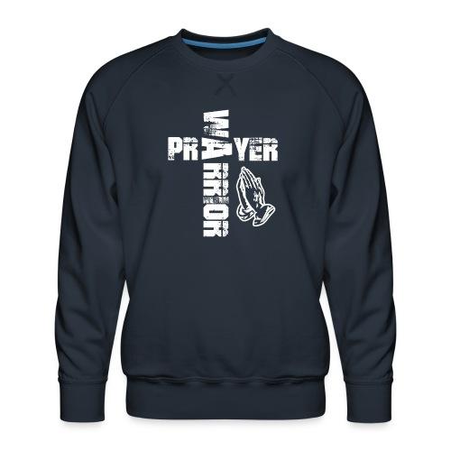 Prayer Warrior White Special - Männer Premium Pullover