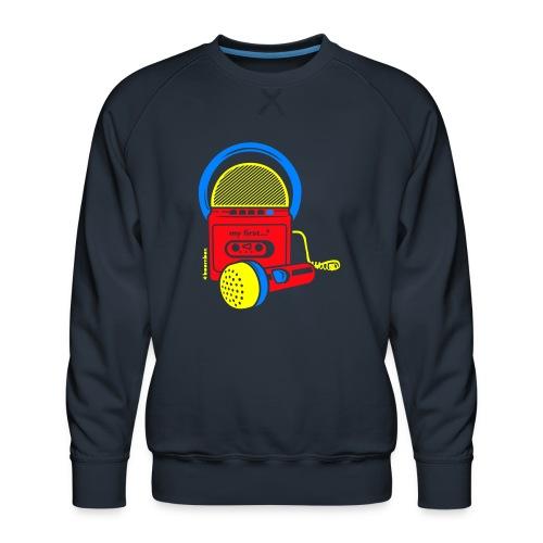 My first Boombox - Mannen premium sweater