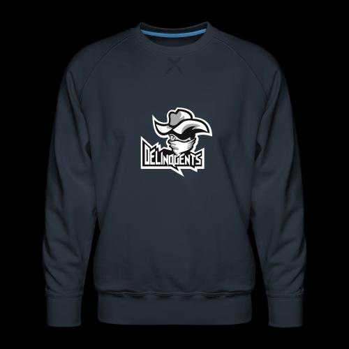 Delinquents TriColor - Herre premium sweatshirt