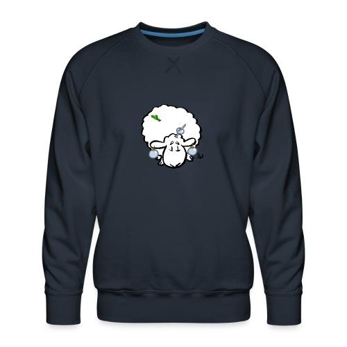 Juletræ får - Herre premium sweatshirt