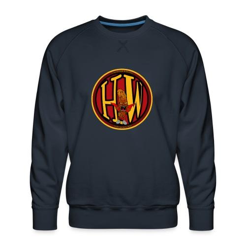 superhw stikker incl worst png - Men's Premium Sweatshirt