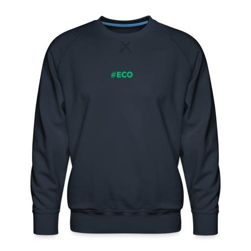 #ECO Blue-Green - Männer Premium Pullover