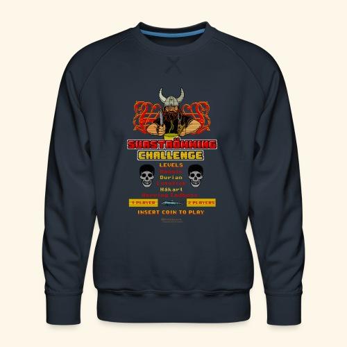 Surströmming Challenge Retro Videospiel - Männer Premium Pullover