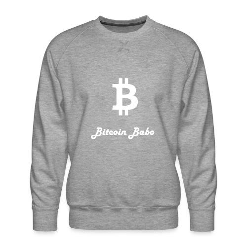 Bitcoin Babo - Männer Premium Pullover