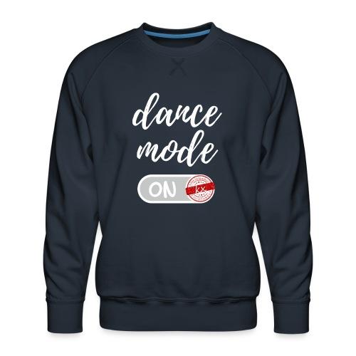 dance mode w - Männer Premium Pullover