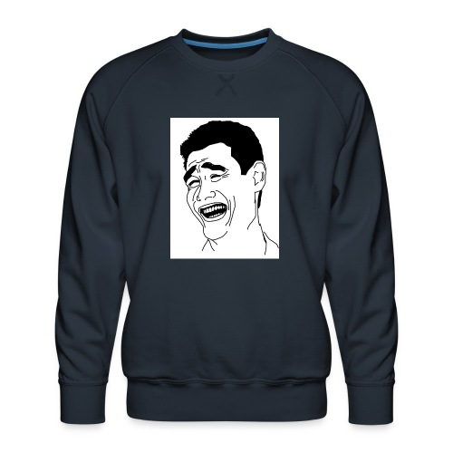 Yao Ming Face Bitch Please - Bluza męska Premium