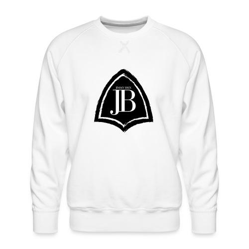 Original Jimmy BriX Logo - NEW LINE BLACK EDITION! - Männer Premium Pullover