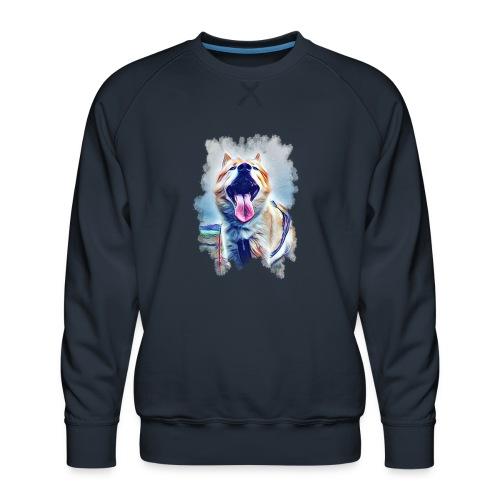 Zufrieden - Männer Premium Pullover