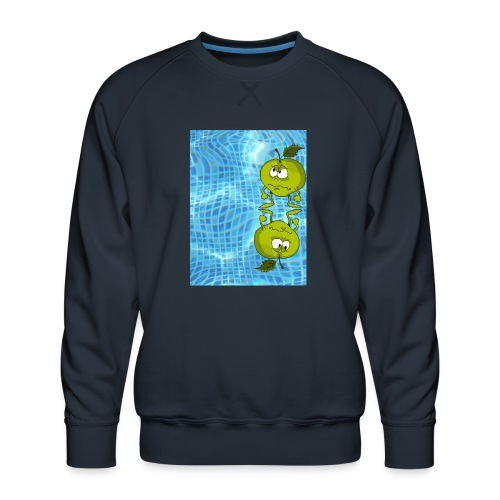 angry appel - Mannen premium sweater