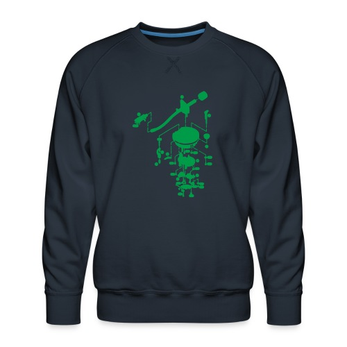 tonearm05 - Mannen premium sweater