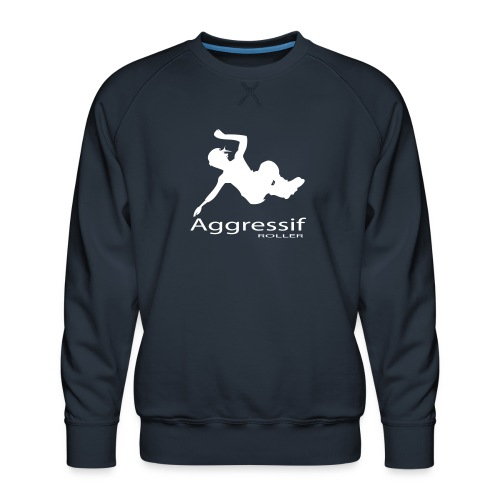 Roller Agressif - Sweat ras-du-cou Premium Homme