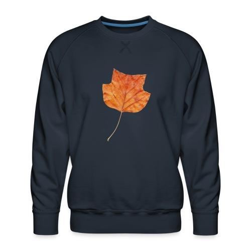Herbst-Blatt - Männer Premium Pullover