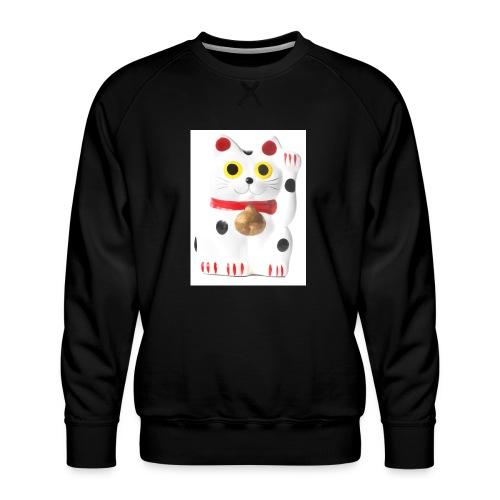 luckycat - Men's Premium Sweatshirt