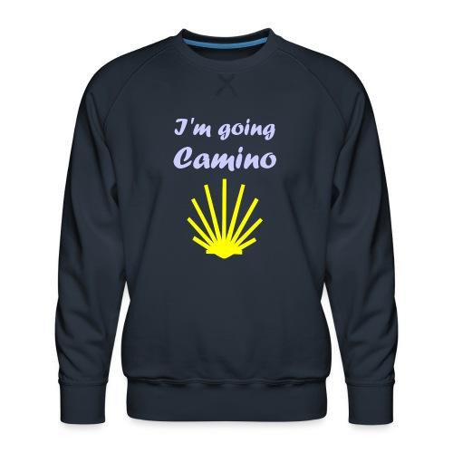 Going Camino - Herre premium sweatshirt