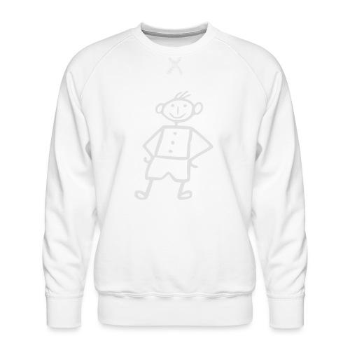 me-white - Männer Premium Pullover