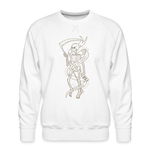 Altes Schädelgold - Männer Premium Pullover