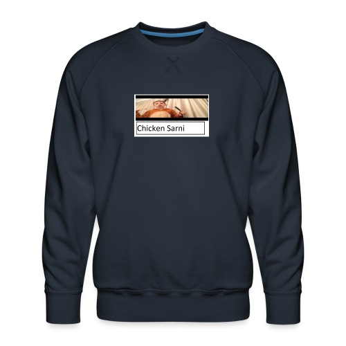 chicken sarni - Men's Premium Sweatshirt