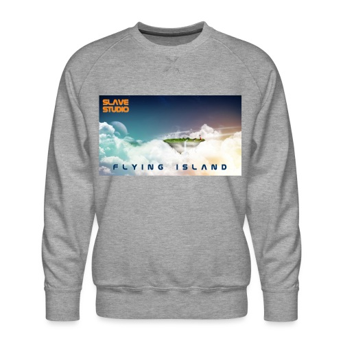 flying island - Felpa premium da uomo