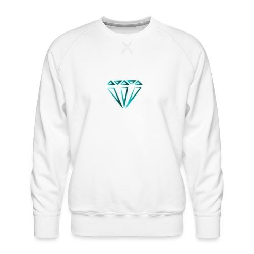 diamante - Felpa premium da uomo