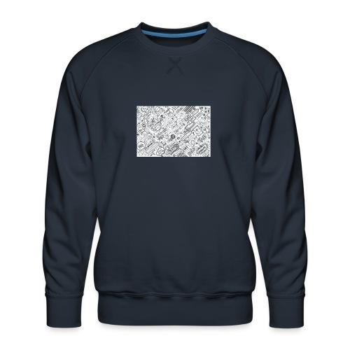 Doodle - Bluza męska Premium