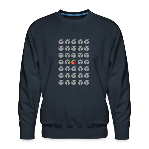 grid semantic web - Men's Premium Sweatshirt