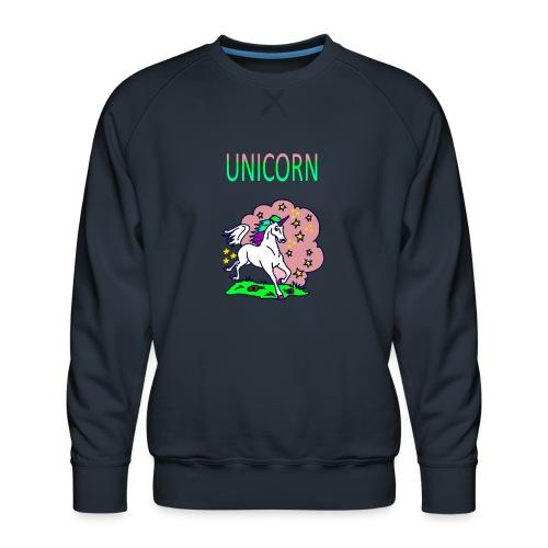 Einhorn unicorn - Männer Premium Pullover