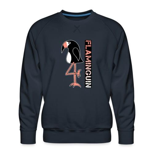 Pinguin Flamingo Flaminguin - Männer Premium Pullover