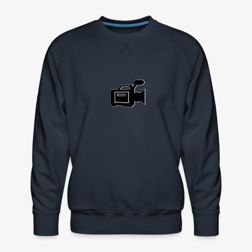 camera - Herre premium sweatshirt