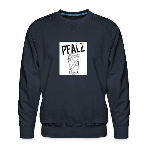Pfalzshirt mit Dubbeglas, weiß - Männer Premium Pullover