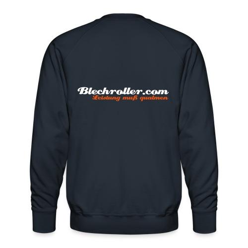 blechroller logo - Männer Premium Pullover