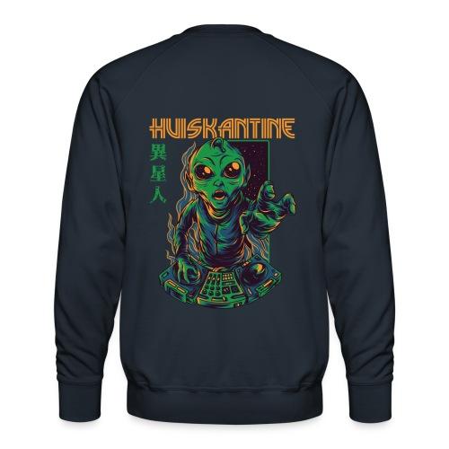 huiskantine alien DJ - Mannen premium sweater