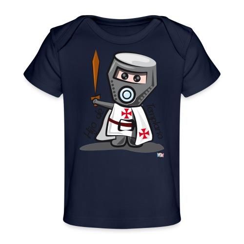 Hijo de templario (Casco) - Camiseta orgánica para bebé