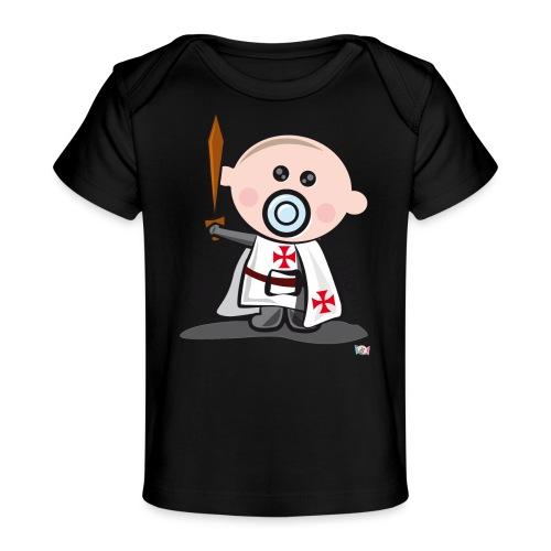 Hijo de templario - Camiseta orgánica para bebé