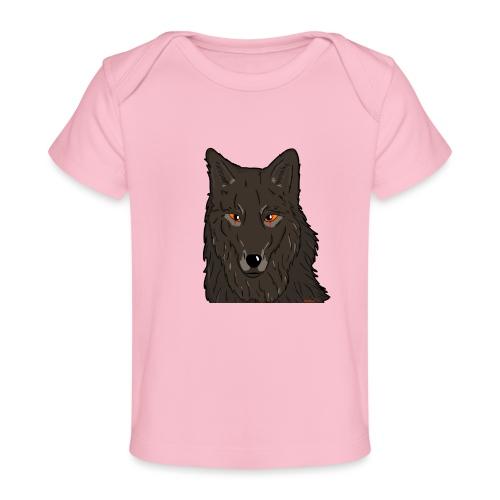 HikingMantis Wolf png - Økologisk T-shirt til baby