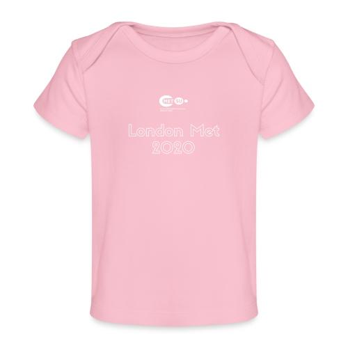 London Met 2020 - Organic Baby T-Shirt