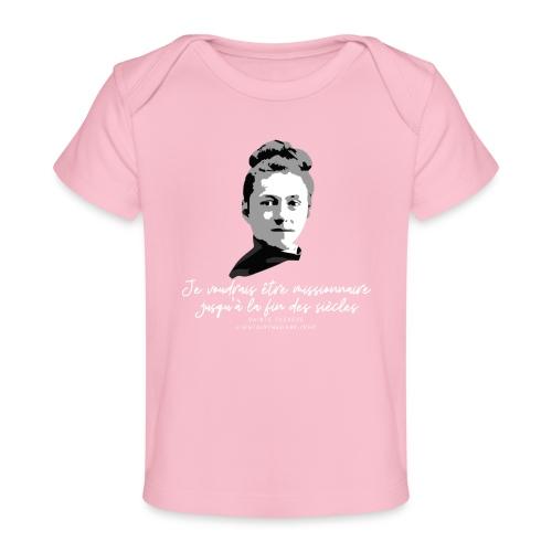 Sainte Therese patronne des missions - T-shirt bio Bébé