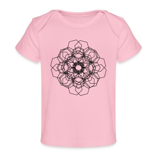 Flower - Økologisk T-shirt til baby
