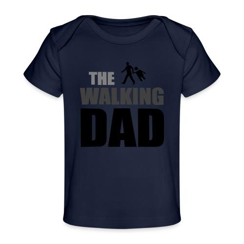 the walking dad auf dem Weg in die lustige Bar - Baby Bio-T-Shirt