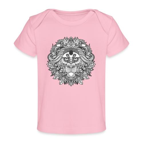 Sternzeichen Löwe - Baby Bio-T-Shirt