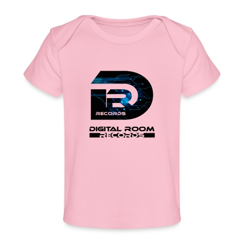 Digital Room Records Official Logo effect - Organic Baby T-Shirt
