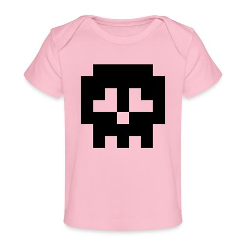 Retro Gaming Skull - Organic Baby T-Shirt