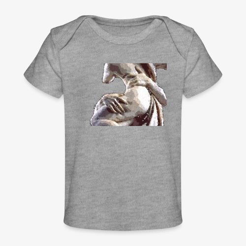 #OrgulloBarroco Rapto difuminado - Camiseta orgánica para bebé