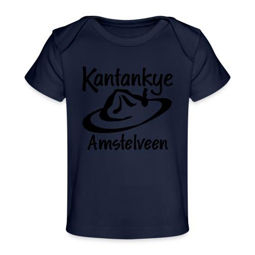 logo naam hoed amstelveen - Baby bio-T-shirt
