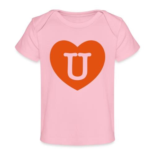 LOVE- U Heart - Organic Baby T-Shirt